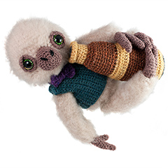 Amigurumi Animals at Work - Artemis the astronomer