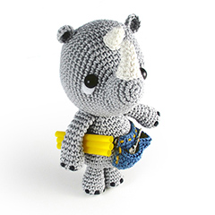 Amigurumi Animals at Work - Pippo the plumber