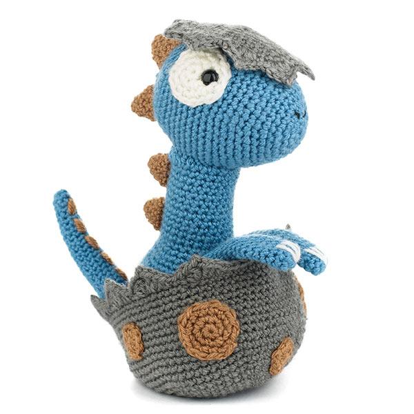 Amigurumi Food: Dino Crochet Mobile | 600x600