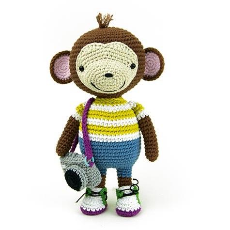 Sweet Monkey Julie Amigurumi Crochet Pattern / PDF e-Book /   Etsy   475x475