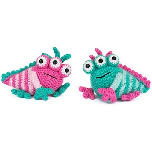 Amigurumi Monsters Book Review : Amigurumi monster Crochet pattern ... | 500x500