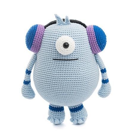 Amigurumi Monsters Book Review   Crochet monsters, Monster book of ...   450x450